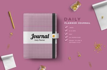 Kyra - Work Daily Planner Journal 4513927 1