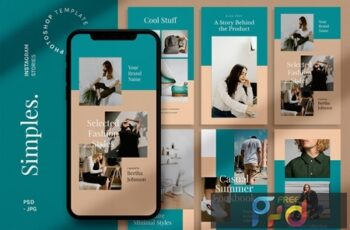 Simples - Instagram Story Template WSR5MKZ 6