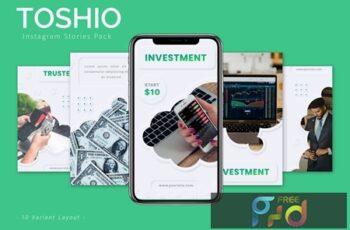 Toshio - Instagram Story Pack NDCYVXK 3