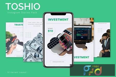 Toshio - Instagram Story Pack NDCYVXK 1