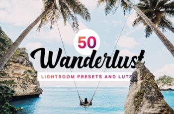 50 Wanderlust Lightroom Presets LUTs 4435344 5