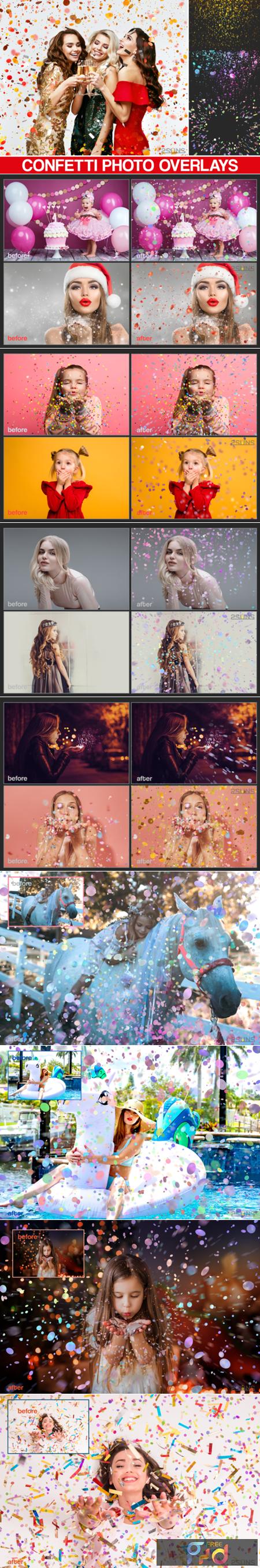 35 Confetti Overlays 2767759 1