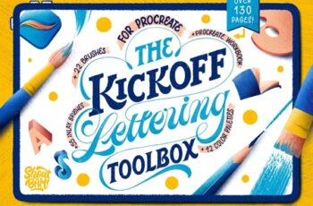 The KickOff Lettering Toolbox 4357660 2
