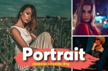 18 Cinematic Portrait Premium Lightroom Presets 25602391 5