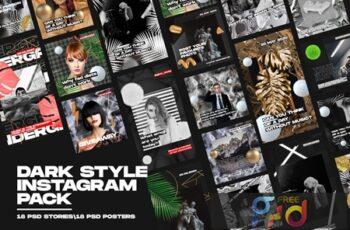Dark Style Instagram Pack RTX8NTD 2
