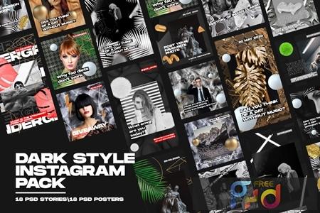Dark Style Instagram Pack RTX8NTD 1