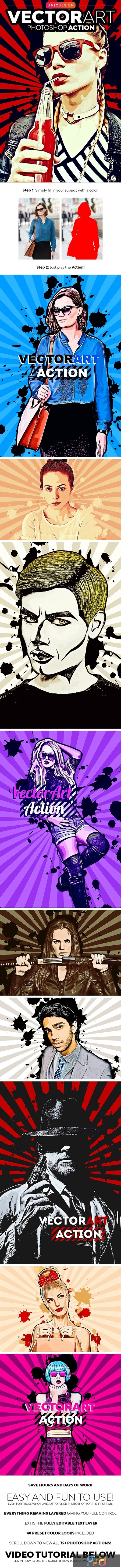 VectorArt Photoshop Action 23467041 1