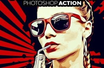 VectorArt Photoshop Action 23467041 5
