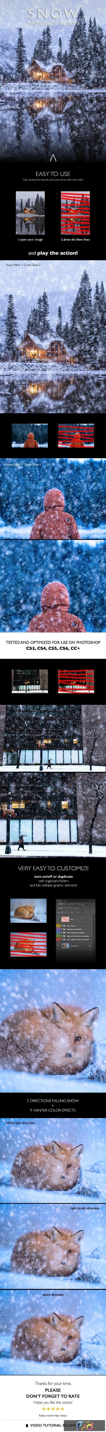 Snow Photoshop Action 25599566 1