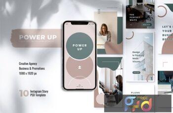 POWER UP Creative Agency Instagram Stories U8HP2MK 7