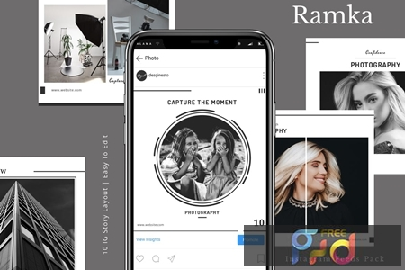 Ramka - Instagram Feeds Pack EHTZ82E 1