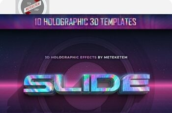 3D Holographic Text Effects 22377756 8