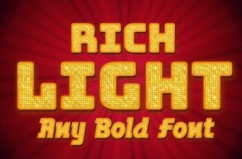 Rich Bright Light Text Style Mockup 321667335 3