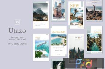 Utazo - Instagram Story Pack 5E5LF75 6