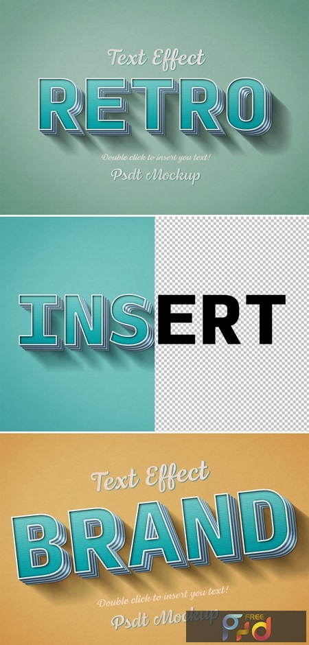 Teal Striped Retro-Style Text Effect 321293346 1