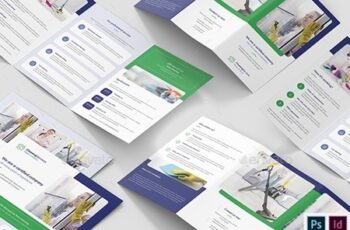 Cleaning Service – Brochures Bundle Print Templates 8 in 1 25675641 14