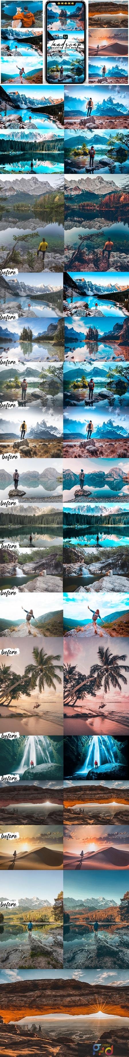 Landscape Presets Preset For Mobile and Desktop Lightroom 25559885 1