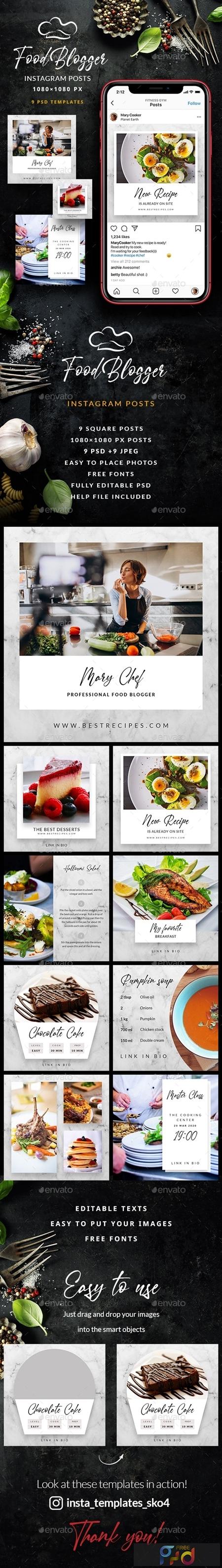 Food Blogger - Instagram Posts 25614998 1