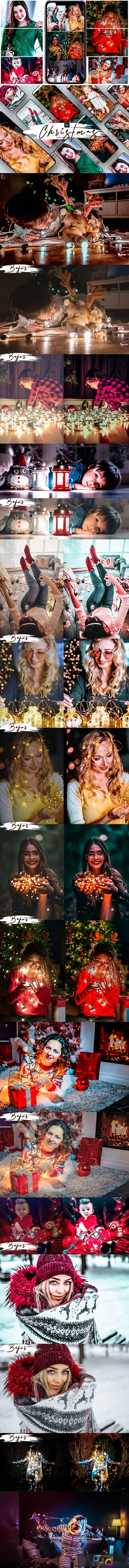 Christmas Lightroom Presets Desktop & Mobile 25294549 1
