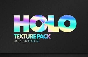 Holographic Texture Text Effect Mockup Bundle 321514539 7