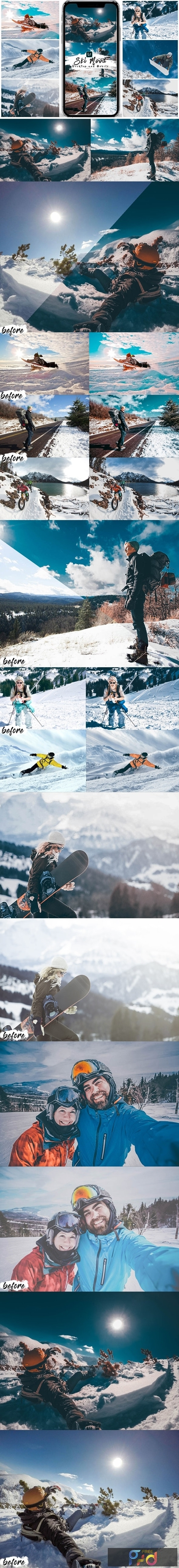 Ski Mood Presets For Mobile and Desktop Lightroom 25560611 1