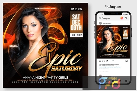 Epic Sound Flyer Template 4547020 1