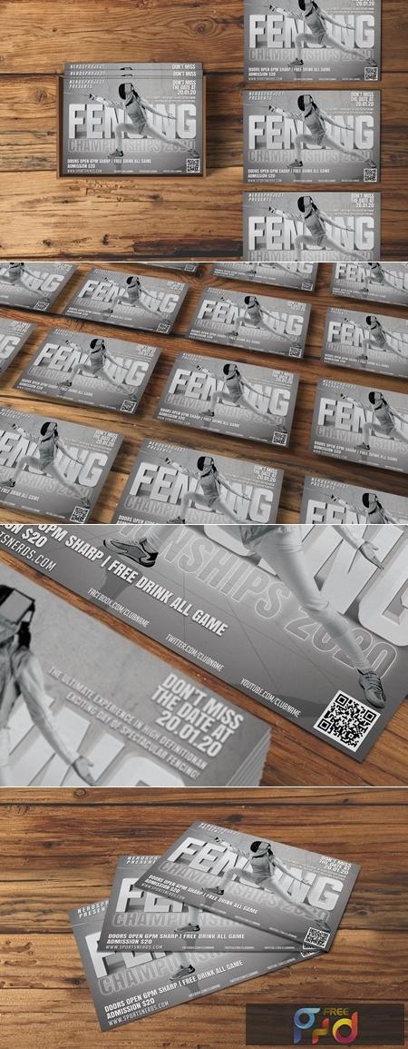 Fencing Flyer 4550709 1