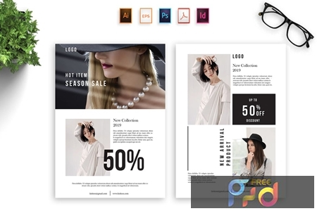 Fashion Brochure Template - [YP Code] BNSH8MS 1