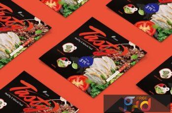 Food, Restaurant Square Brochure 7SYCG4K 6
