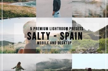 5 Salty Spain Lightroom Presets 4526936 5