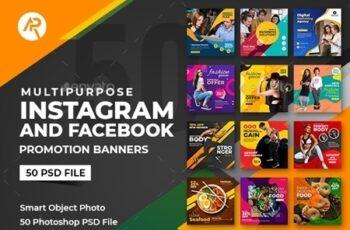 50-Instagram & Facebook Banners 25636114 2