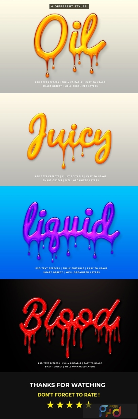 Liquid Oil Text Style Effect Mockup 25632965 1