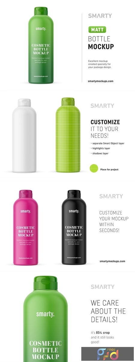 Matt cosmetic bottle mockup 4539154 1