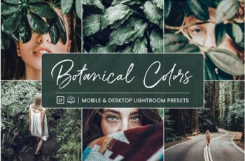 Lightroom Presets Botanical Colors 4410278 7