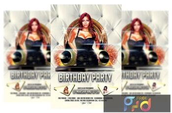 Birthday Party Flyer 2847266 6