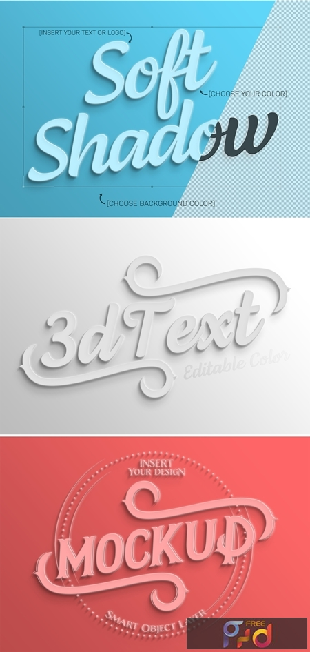 Simple White 3D Text Effect 322108186 1