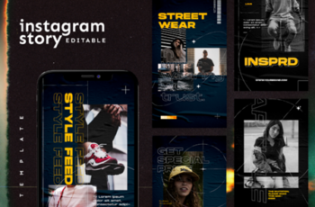 Instagram Story Template 2847303 7