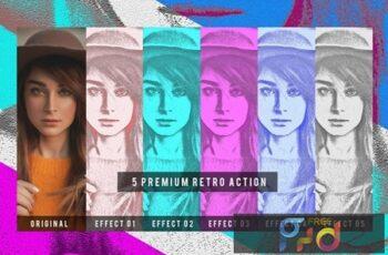 5 Premium Retro Action 9T8KZ9X 3