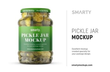 Pickle jar mockup 4388662 3