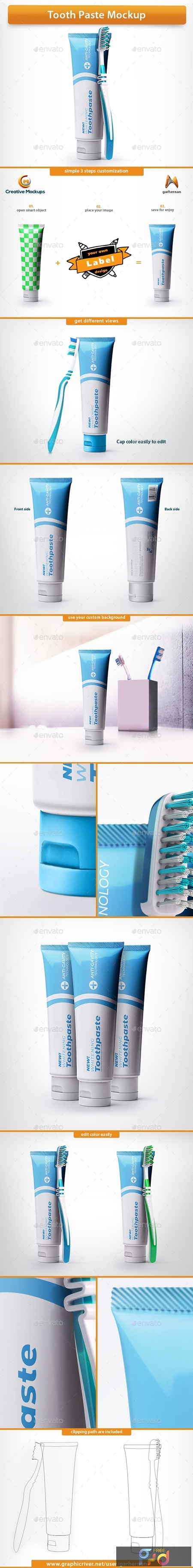 Tooth Paste Psd Mockup 25647243 1