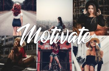 10 Lightroom Presets - Motivate 3814192