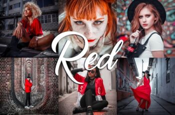 10 Lightroom Presets - Red 3814161 1