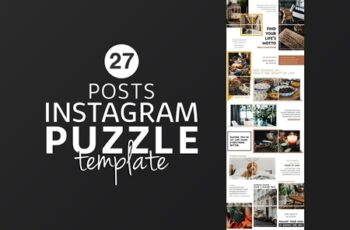 Instagram Puzzle Template Lifestyle 4400309 4