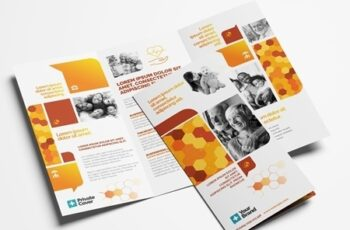 Corporate Trifold Leaflet Layout 322611388 5