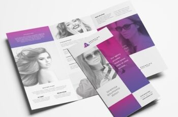 Trifold Brochure Layout with Modern Style 322611254 7