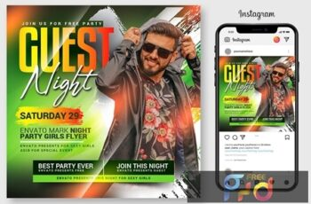 Guest Dj Night Flyer Template 4546976 10