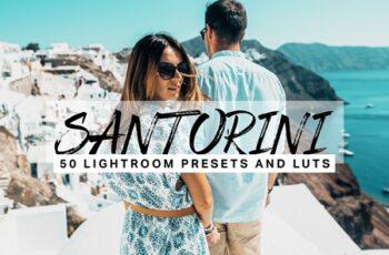 50 Santorini Lightroom Presets LUTs 4532579 1