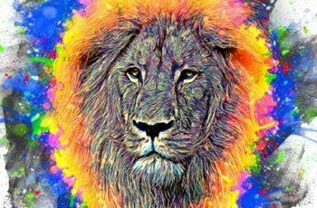 Colorful Paint Art Action 25543621 6