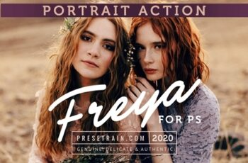 Freya Portrait Action for Photoshop 4580363 3