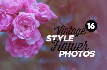 16 Vintage Style Flower Photos 302081 3